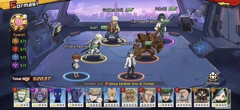 """Main ONE PUNCH MAN: The Strongest Pakai Child Emperor Auto Win di """"One Round Style"""""""