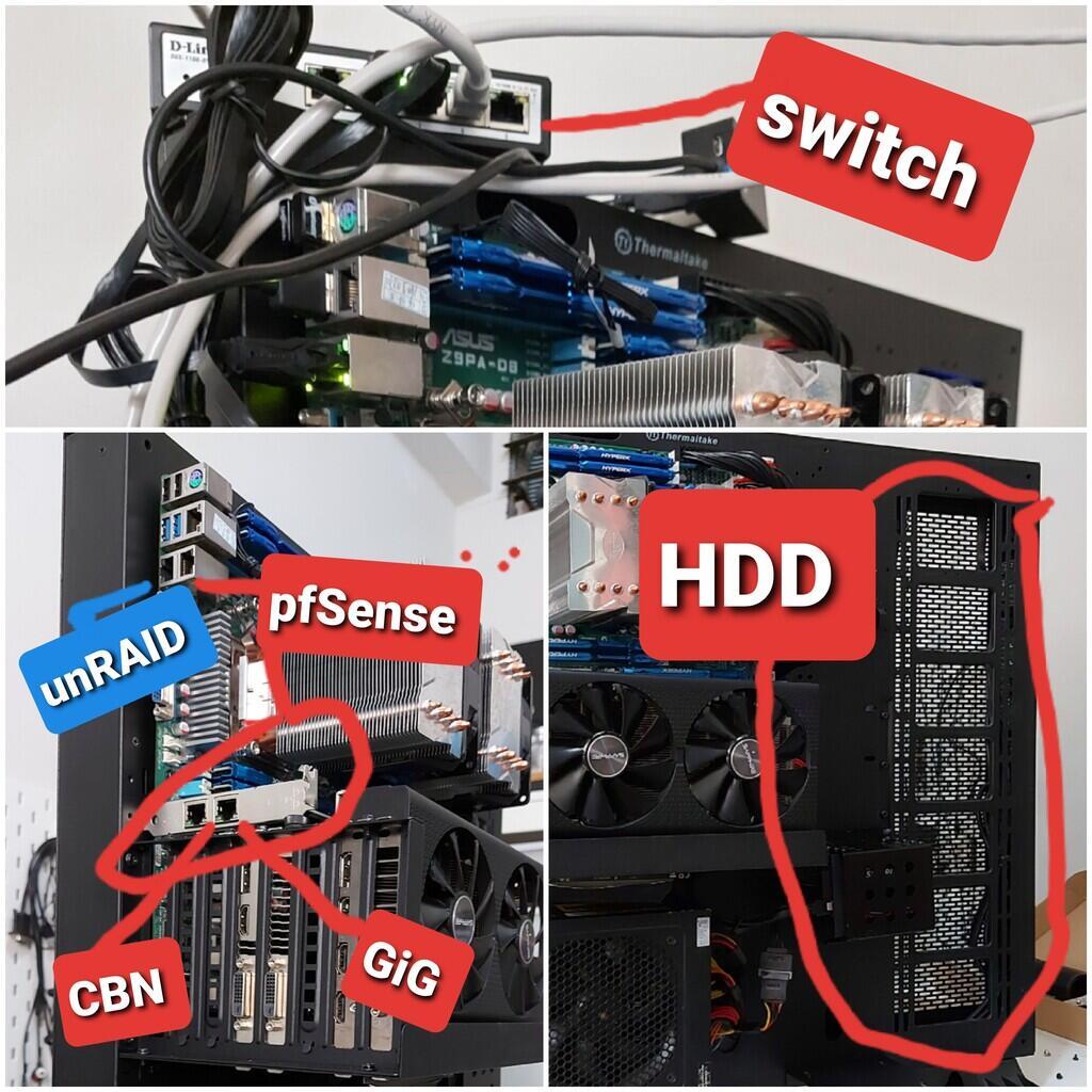 [unRAID] Hackintosh & Windows dalam 1 PC + NAS!
