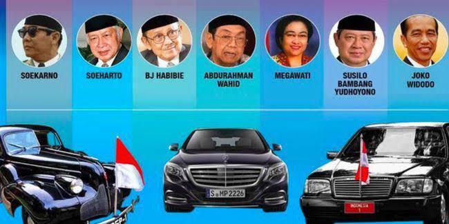 Berikut Deretan Mobil Dinas Presiden Indonesia, Mana yang Lebih Agan Suka?