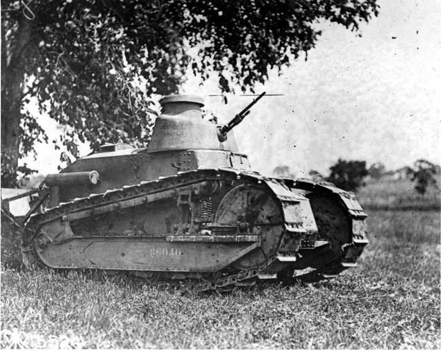 Jenis - Jenis Tank yang Terjun dalam Perang Dunia I
