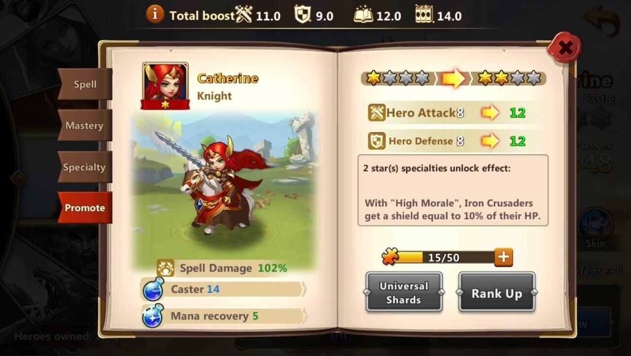 Mengenal Ratu Catherine Dalam Game Might & Magic Heroes: Era of Chaos!