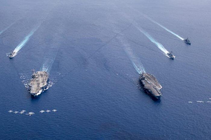 Perang Dunia Ketiga Digadang-gadang Bakal Meletus di Laut China Selatan