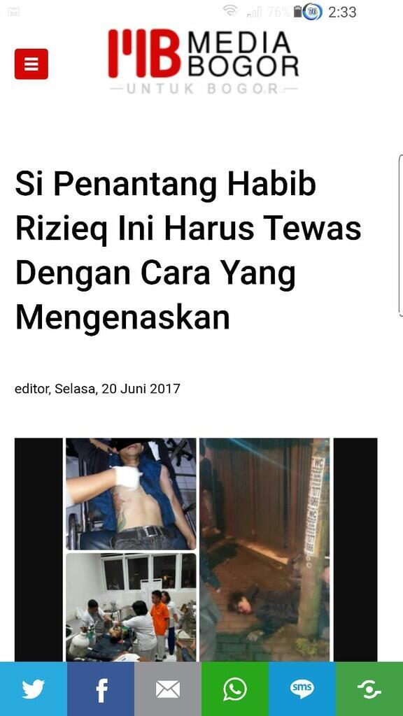 Siap Perang, PA 212 Kecam Pembakaran & Perobekan Poster Habib Rizieq