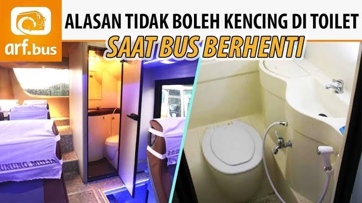 Jangan BAB Di Bus Toilet Ya Gan, Berbahaya!