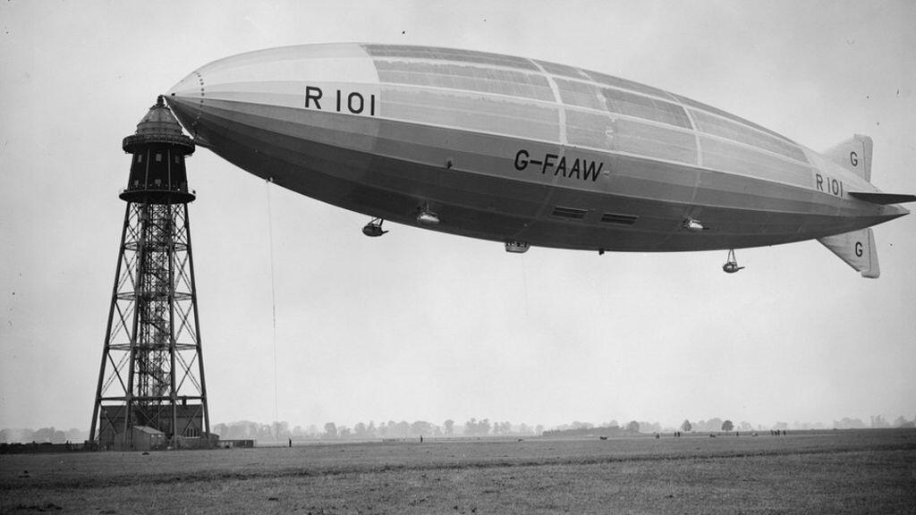 "Penampakan R-100 Airship : Hotel ""MELAYANG"" Yang Menakjubkan Dan Berujung Tragis !"