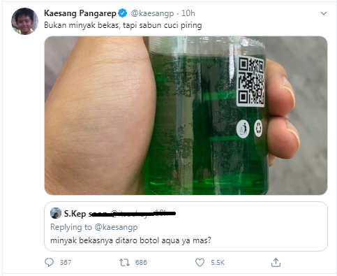 Deretan Twit Kaesang Ini Bikin Heboh, Tunjukan SIM Jokowi Hingga Barang Dapur Istana