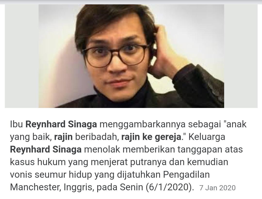 Kasus Perkosaan Reynhard Sinaga 'Predator Setan' Bakal Dibuat Film Dokumenter