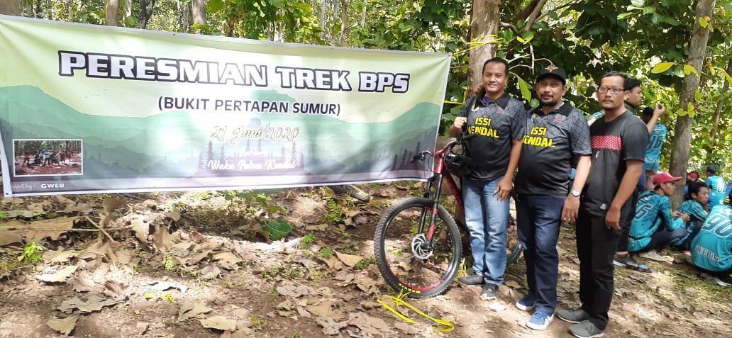 Pembukaan Trek MTB Bukit Pertapaan Sumur di Kabupaten Kendal.