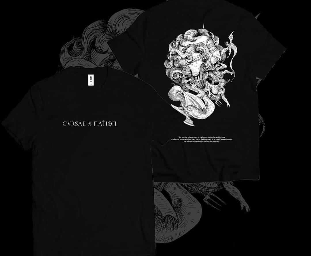 Kaos Lokal dengan Konsep Dark, Berani Coba Gak Lu?