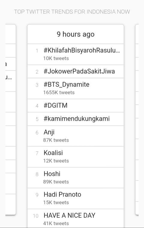 Kasus Dosen Cabul, Tagar #JokowerPadaSakitJiwa Jadi Trending Topik