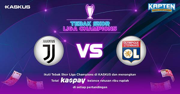 Tebak Skor Liga Champions: Juventus vs Lyon