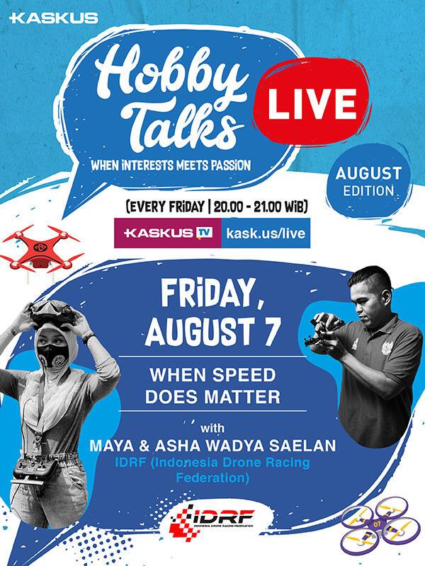 Hobby Talks Bareng Indonesia Drone Racing Federation, Gabung Yuk Gan!