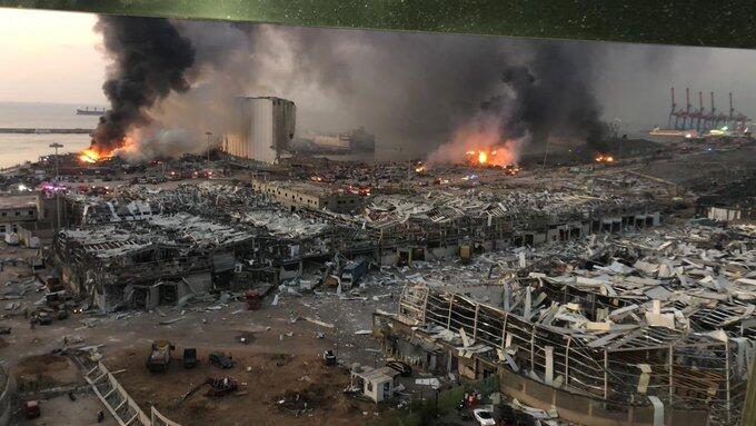 [BREAKING]Ledakan Dahsyat Meluluhlantakkan Beirut