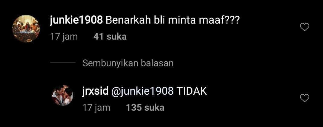 Jerinx: Saya Minta Maaf ke Kawan-kawan IDI, Tak Ada Maksud Menyakiti