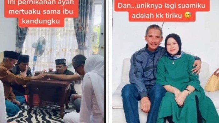 Ayah Mertua Nikahi Ibu Kandung, Otomatis Suami Jadi Kakak Tiri.. Keluarga Unik Nih!