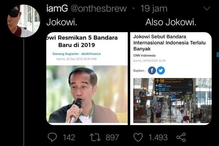 Jokowi Pertanyakan RI Punya 30 Bandara Internasional: Apa Perlu Sebanyak Ini?
