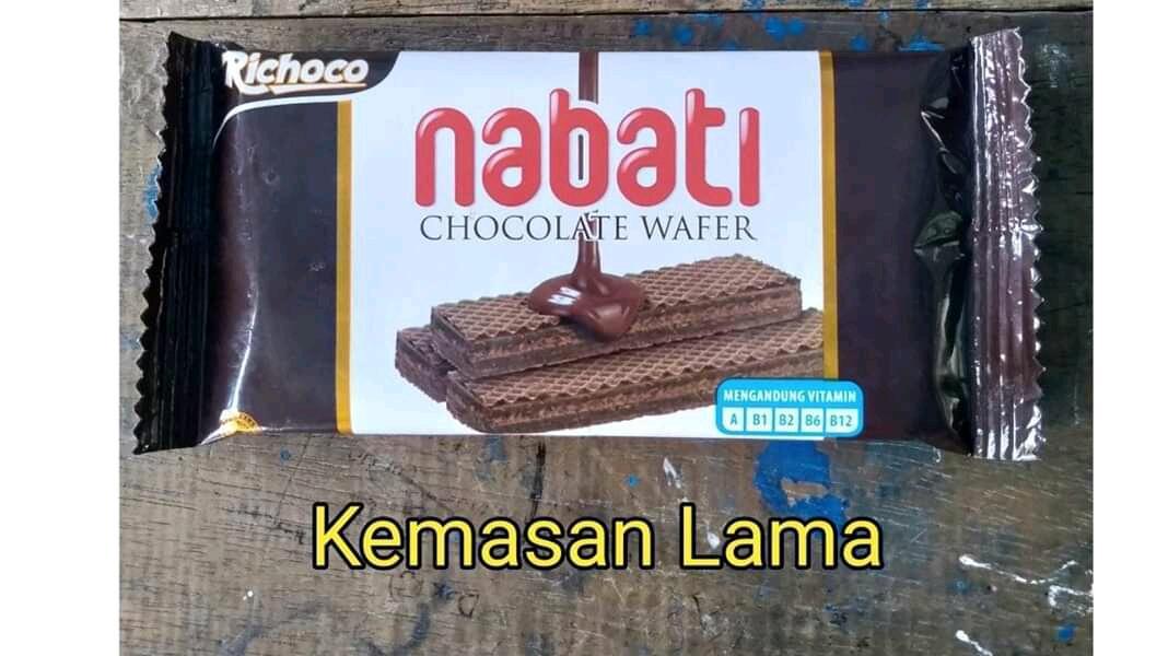 Kandungan Wafer Nabati Coklat 20 Gram Kemasan Baru Berubah?