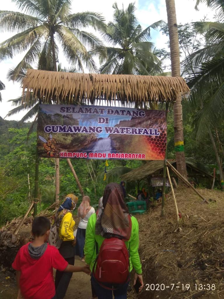 Curug Gumawang: Objek Wisata Teranyar di Banjaranyar-Ciamis yang Instagramable Banget