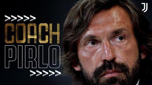 RESMI: Juventus Tunjuk Andrea Pirlo sebagai Pengganti Maurizio Sarri