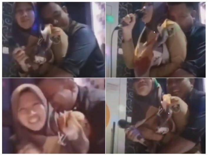 Berduaan di Karaoke, Viral Kades Lampung Tengah Peluk Mesra Istri Kadus