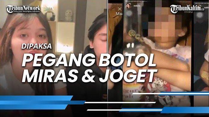 Anak Kecil Disuruh Nyekek Botol Miras, Makin Ancur Moral Remaja Zaman Now!