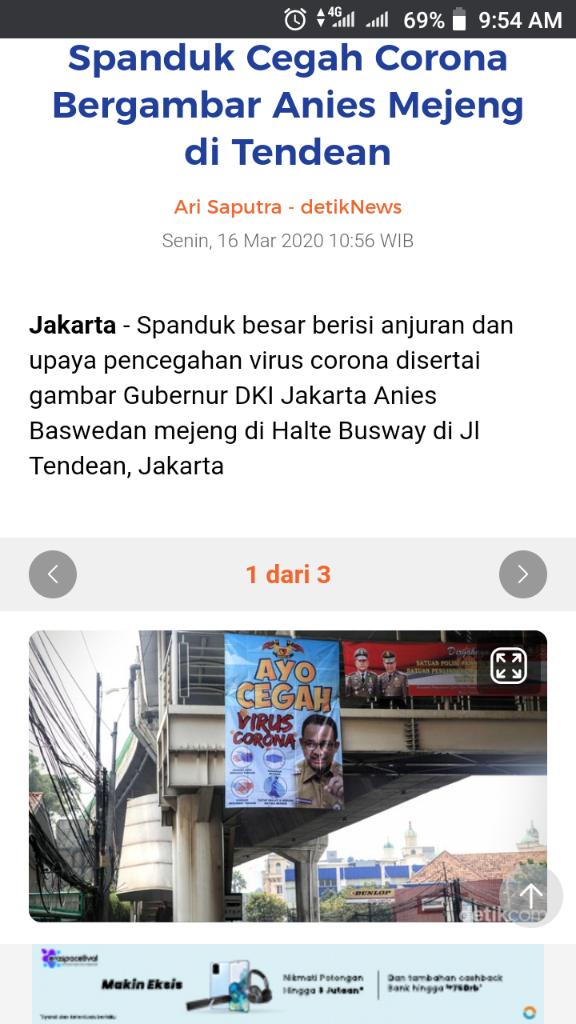 Saat Istana Minta Tak Ada Gambar Jokowi di Spanduk HUT RI