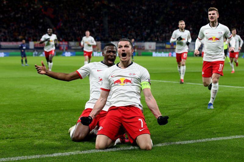 Duel Sengit RB Leipzig vs Atletico Madrid di Perempat Final Liga Champions