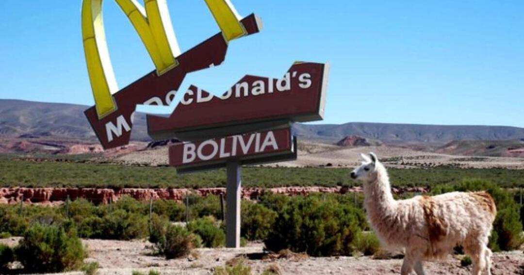 Inilah Alasan Kenapa McDonald's Gak Punya Satu Pun Gerai di Bolivia