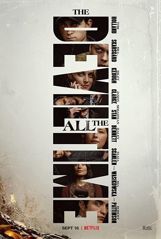 The Devil All The Time (2020) | Tom Holland, Robert Pattinson | Netflix
