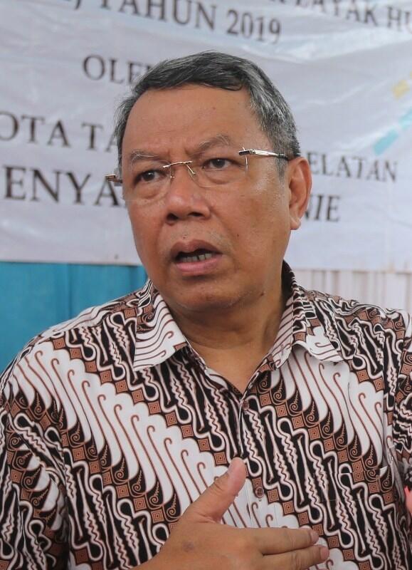 Benyamin Tolak Politik SARA Dalam Pilkada Tangsel