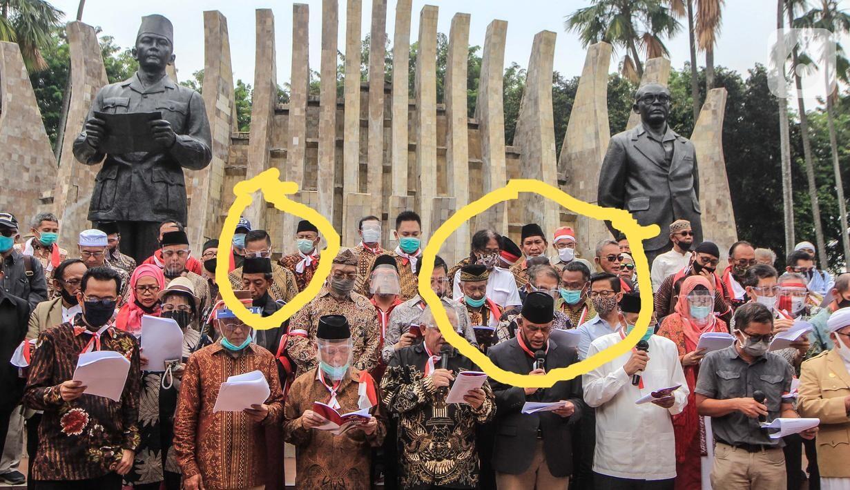 Jumpa Pers di Istana Negara, Satgas Covid-19 Tegur Acara Deklarasi KAMI