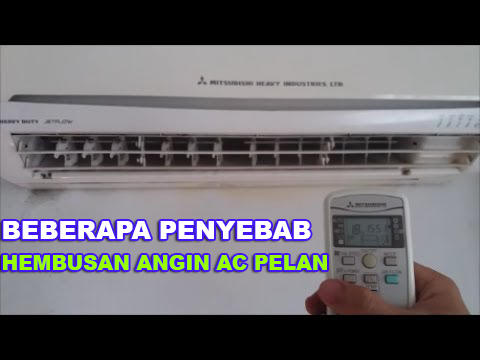 Penyebab hembusan angin indoor AC tidak merata