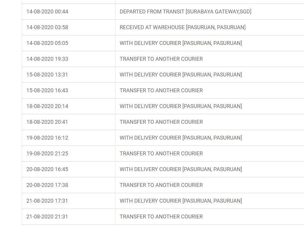 Menuntut Pertanggung Jawaban Ekspedisi JNE (Case ID: CAS-15339805-V4M5P9)