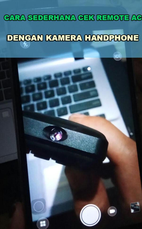 trik sederhana mengetahui remote ac rusak atau tidak