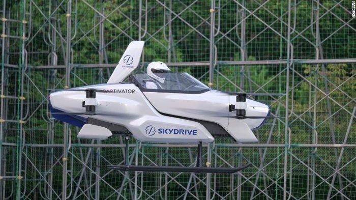 Jepang Sudah Membuat Mobil Terbang, Indonesia Masih Sibuk Ngurusin Anjay