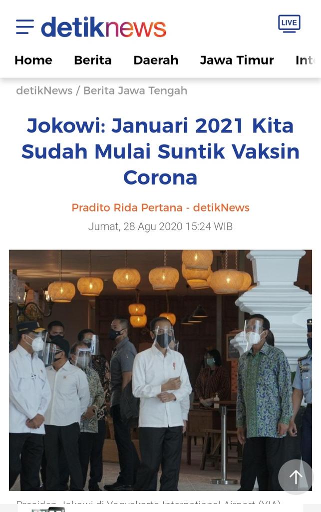 """WHO: """"Nasionalisme Vaksin"""" Hambat Penghentian Pandemi Covid-19"""
