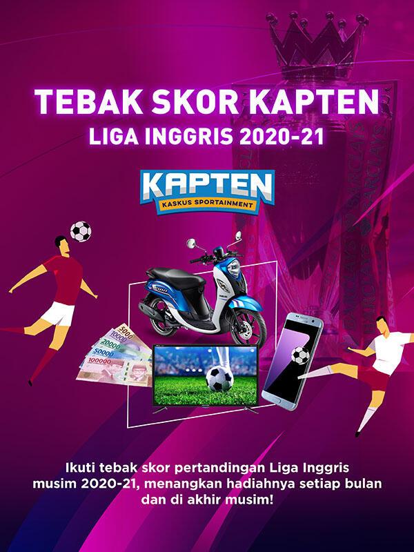 Tebak Skor Berhadiah Balik Lagi Buat Nemenin Agan Sista Nonton Premier League 2020-21