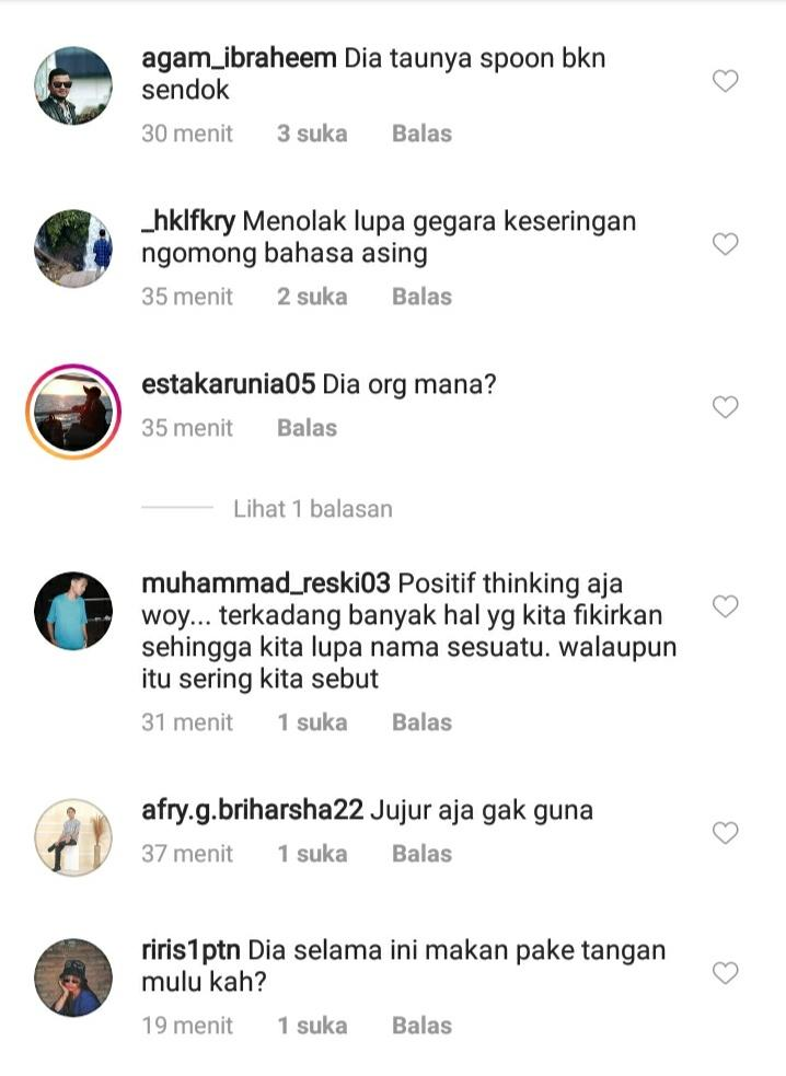 Kekasih Al Ghazali Mendadak Viral Karena Tak Tahu Sendok, Begini Hebohnya Netizen!