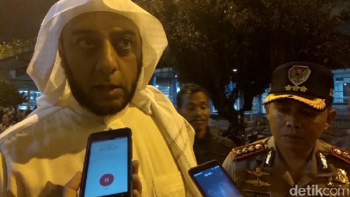 Pelaku Penusukan Syekh Ali Jaber di Lampung Ditangkap!