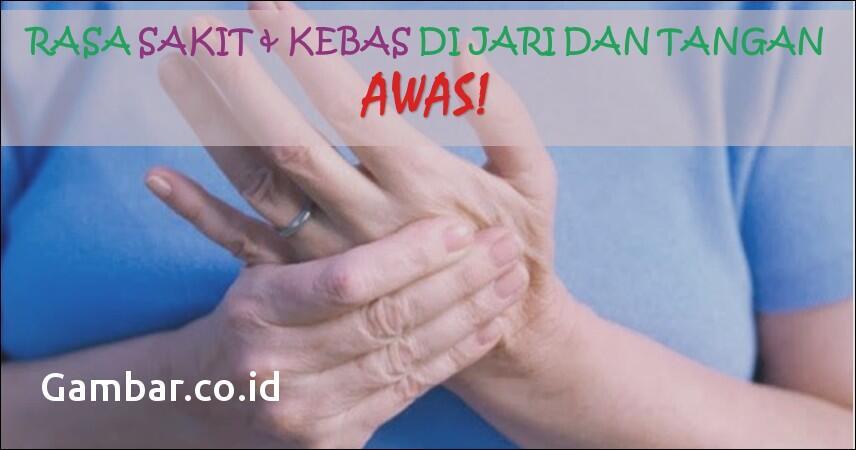 Tangan Suka Kebas ? Ini Penyebab dan Cara Untuk Mengatasi nya