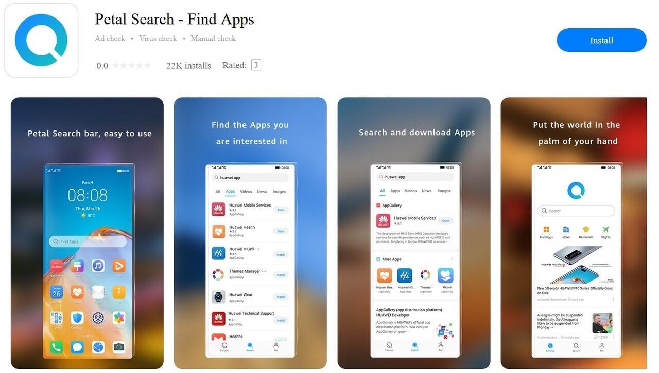 Patel Search, Mesin Pencari Huawei yang Jadi Saingan Google