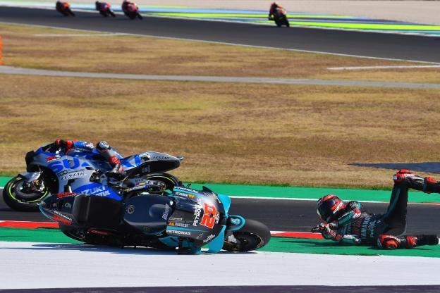 MotoGP San Marino: Dua Pebalap Repsol Honda Melempem, Quartararo Apes