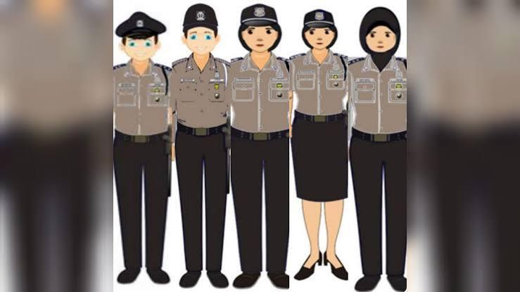Seragam Satpam Baru Bikin Pangling Mirip Dengan Seragam Polisi