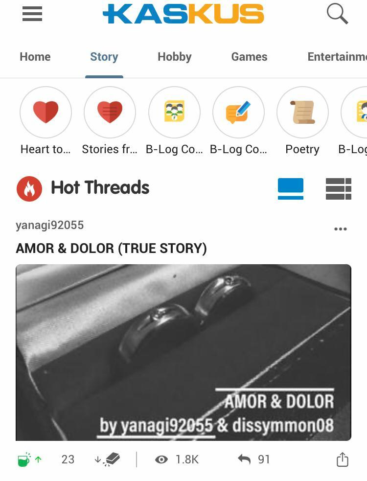 AMOR & DOLOR (TRUE STORY)
