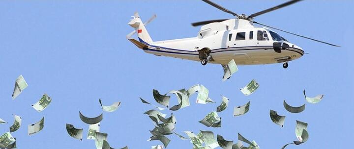 Jokowi Sudah Terbangkan 'Helikopter Uang', Anda Kecipratan?