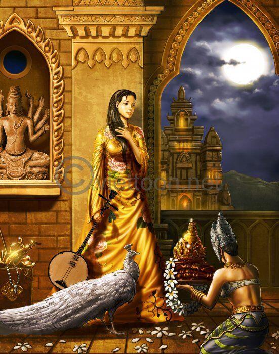Cinta Tak Sampai, Sang Putri Kerajaan Champa Abad ke-7 M Murka di Tanah Minang