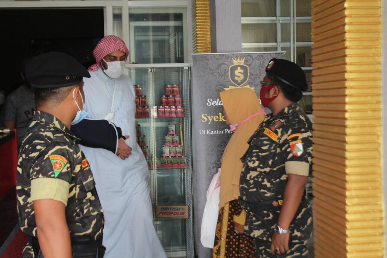 Setelah Insiden Penusukan, Syekh Ali Jaber Dikawal Banser