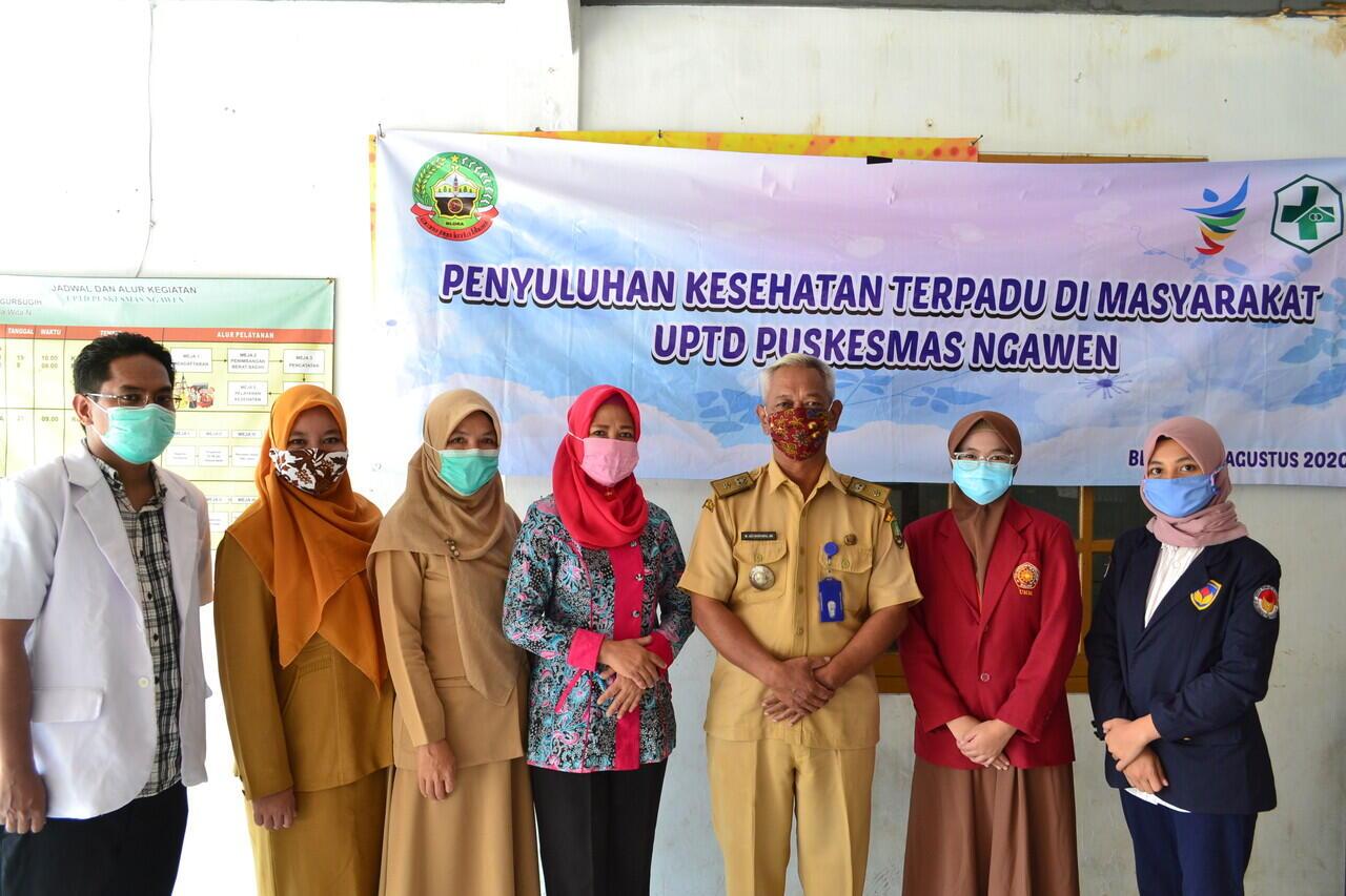 PMM Kelompok 93 UMM Membantu UPTD Puskesmas Ngawen Dalam Program PIK-R