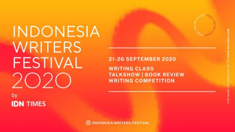 Indonesia Writers Festival 2020 Hadir Secara Virtual di Bulan September 2020