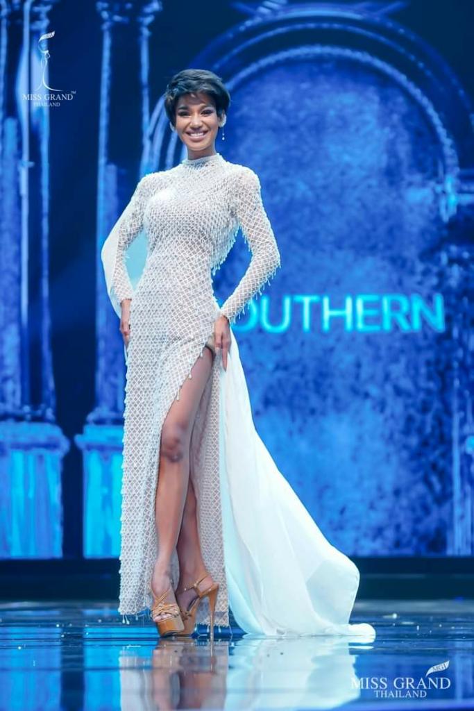 Selamat! Gadis Berkulit Gelap Asal Ranong, Menang Di Kontes Miss Grand Thailand 2020